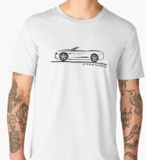2010 Camaro Convertible Men's Premium T-Shirt