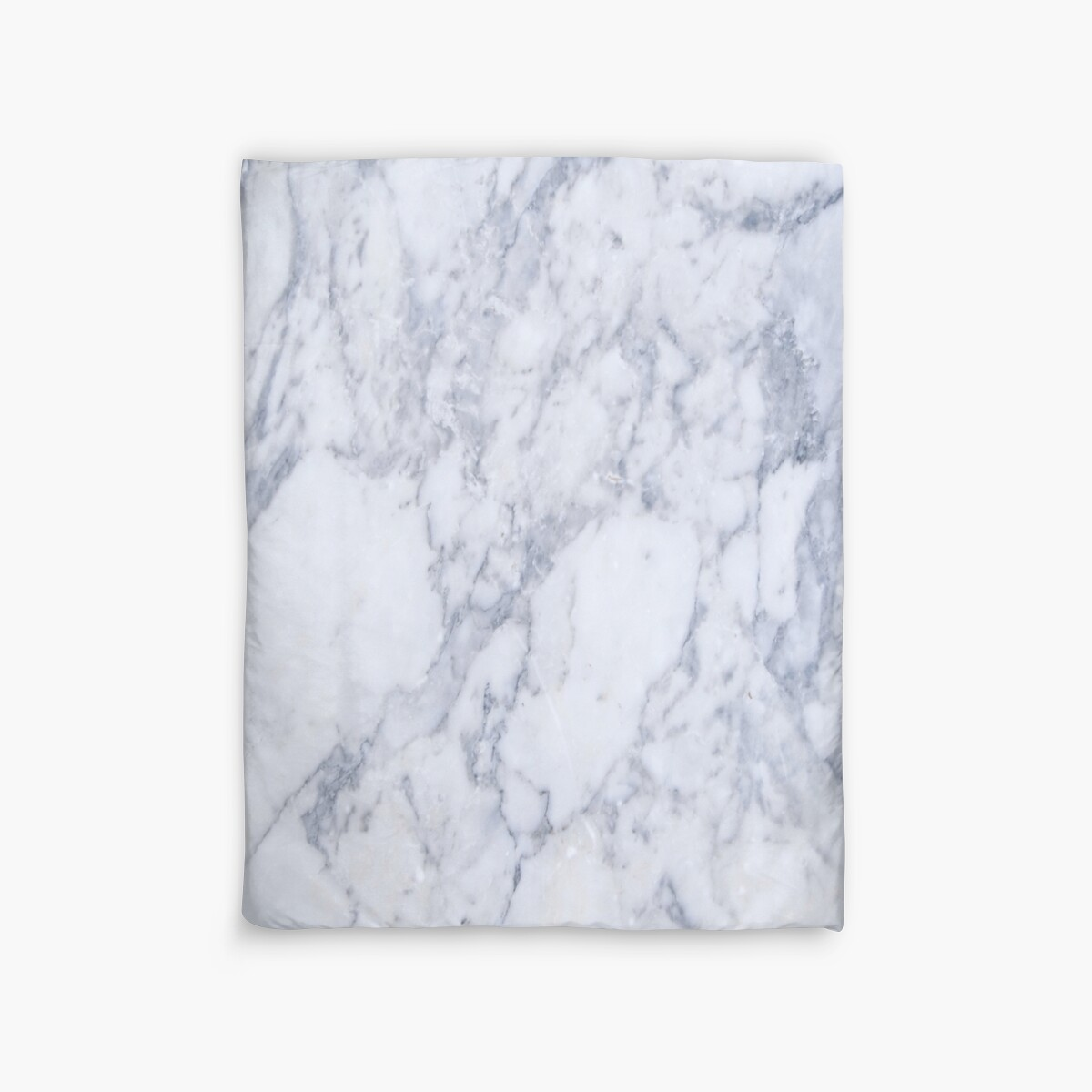 Quot White And Gray Marble Stone Pattern Quot Duvet Covers By