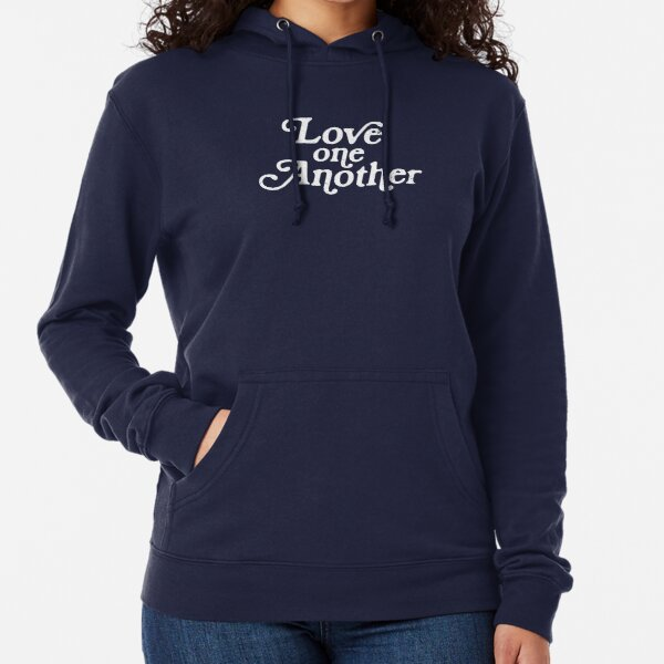Love One Another Sunflowers Lightweight Hoodie