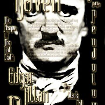 Edgar Allan Poe - The Raven And More. by OriginalDP