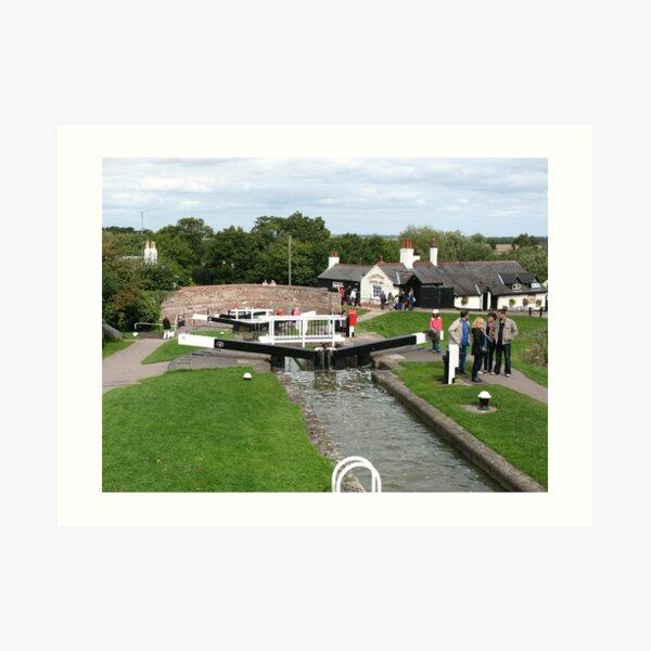 Foxton Locks, Leicestershire (5143) Art Print