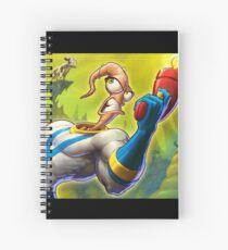 Earthworm Jim Spiral Notebook