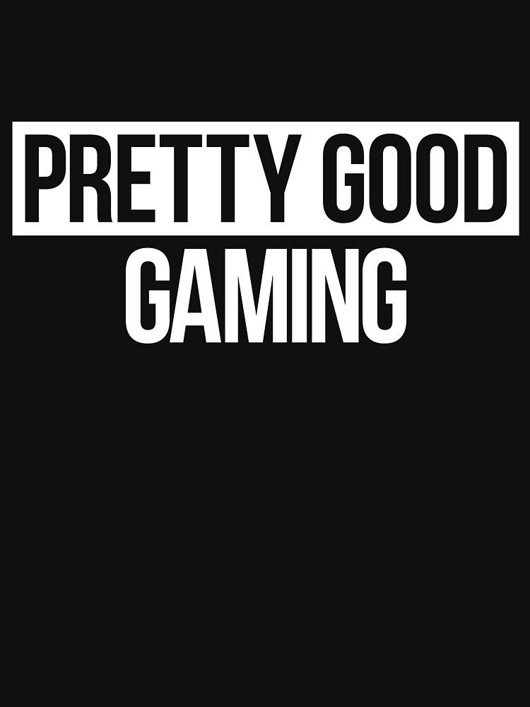 Pretty Good Gaming White Design by PGGaz