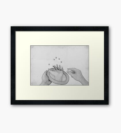 The Gift Of Prayer Framed Print