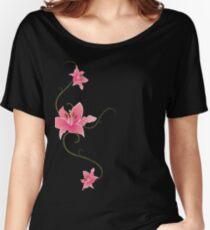 Star Gazing Lilies Women's Relaxed Fit T-Shirt