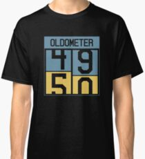 Oldometer from 49 to 50 Classic T-Shirt