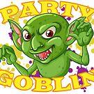 Nightlife Party Goblin Halloween Fun by TheCrazyBear