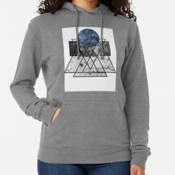 Graphic Spacescape Lightweight Hoodie