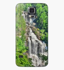 Upper Whitewater Falls NC Summertime Vertical Case/Skin for Samsung Galaxy