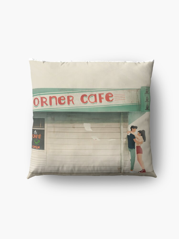 Alternate view of to all the boys I loved before Floor Pillow