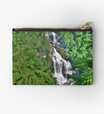 Upper Whitewater Falls NC Summertime Studio Pouch