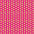 dots, dots and more dots pink by Virginia Fitzgerald