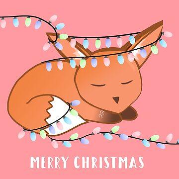 Sleepy Fox Christmas! by JTBeginning-x