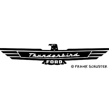 Ford Thunderbird Emblem Black by azoid