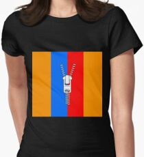ZIPPER TWO Women's Fitted T-Shirt
