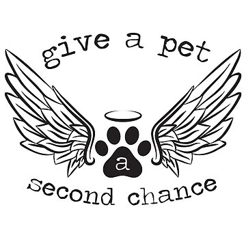Dogs Cats Adoption - Give a Second Chance by LemonRindDesign