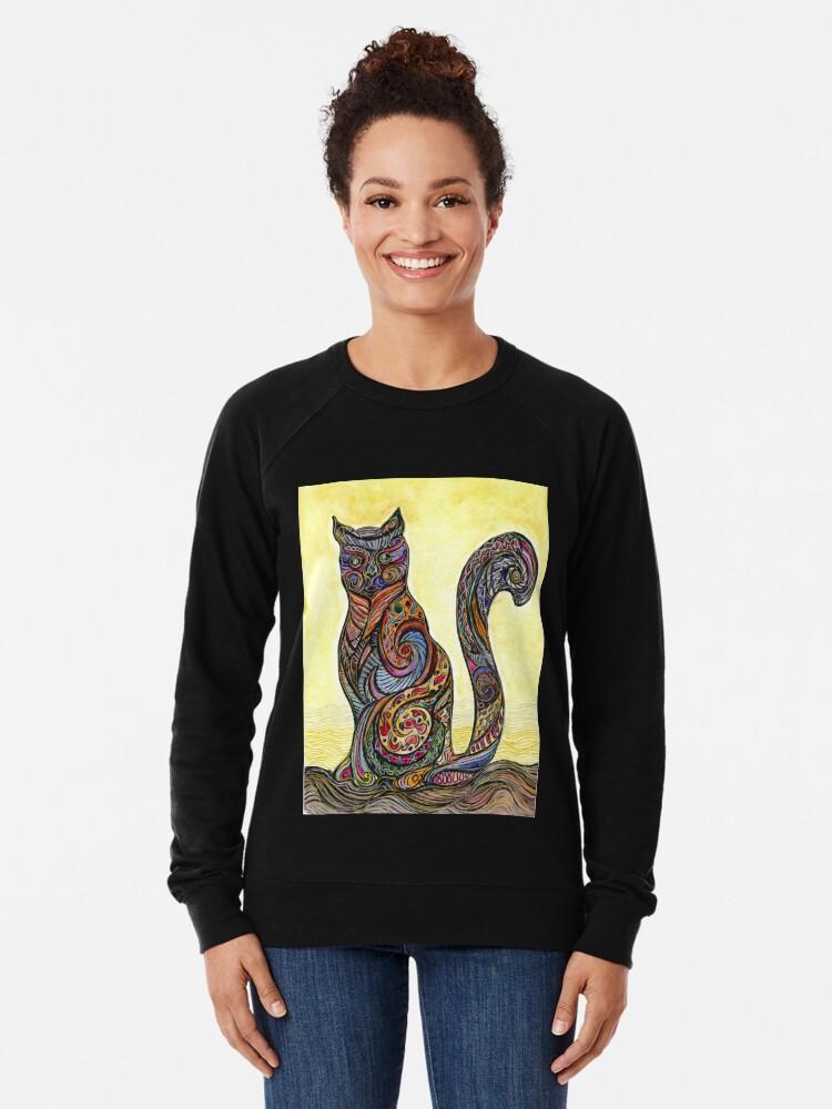 Vista alternativa de Sudadera ligera Cat of Many Colors