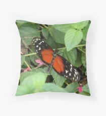 Heliconius hecale Throw Pillow