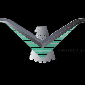 Ford T Bird Thunderbird Emblem by azoid