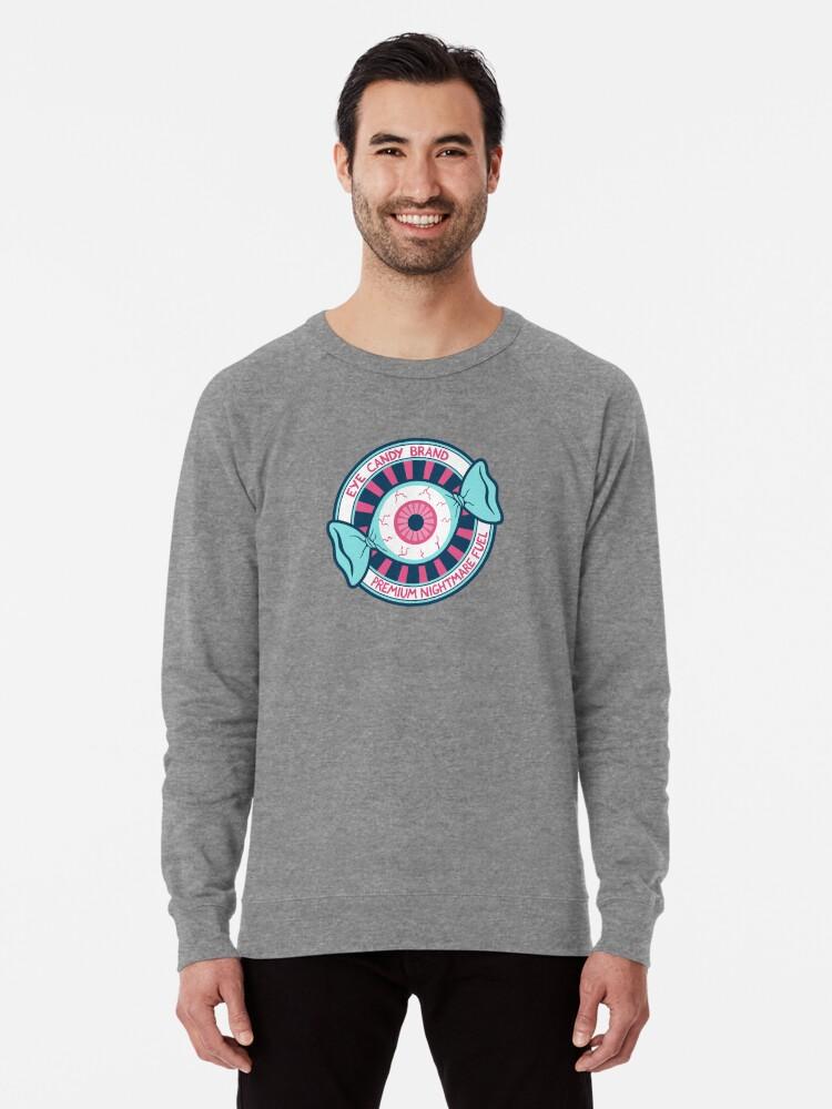 Alternate view of Eye Candy Badge Lightweight Sweatshirt