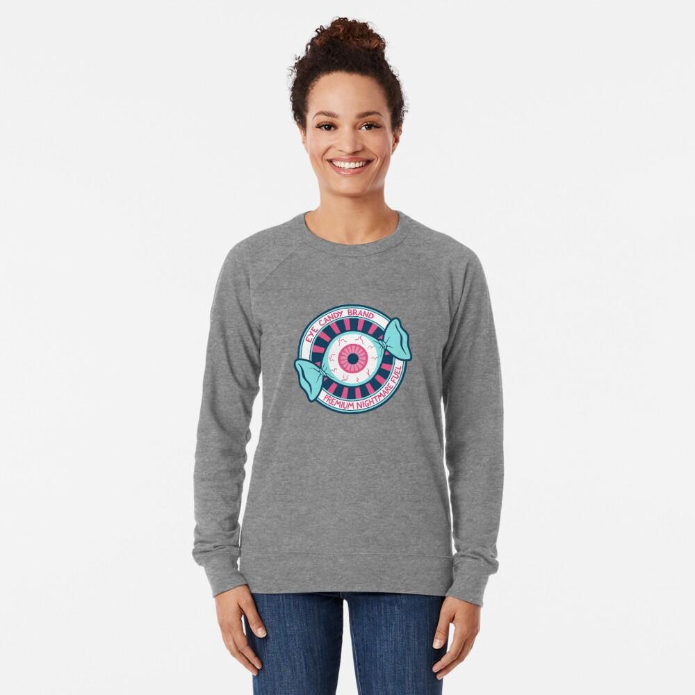 Eye Candy Badge Lightweight Sweatshirt