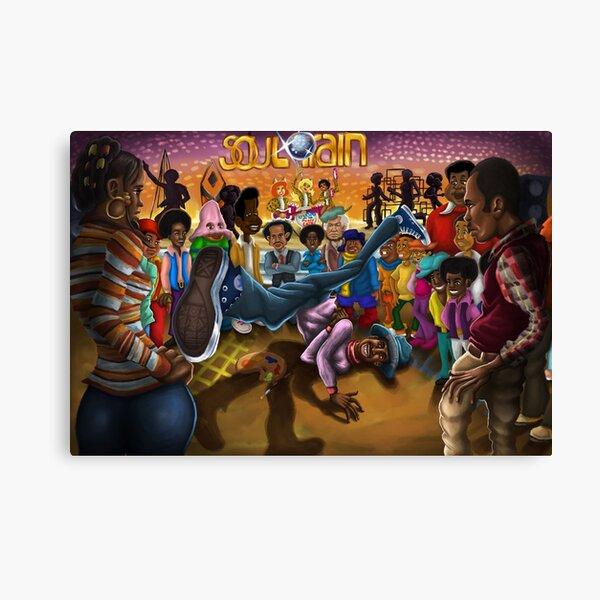 Goodtimes At Soul Train Canvas Print