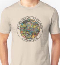 Psychedelische Forschung Volunteer Slim Fit T-Shirt
