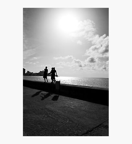 Shadows of Habana Photographic Print