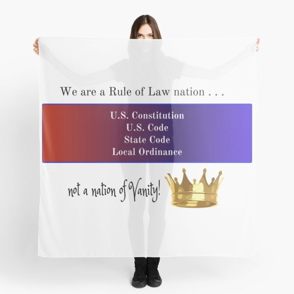 Rule of Law Nation Scarf