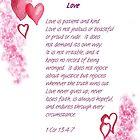 Love - 1Cor. 13:4-7 by Diane Hall