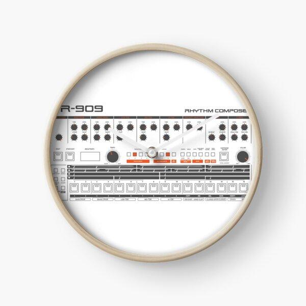 TR 909 Drum Machine Clock