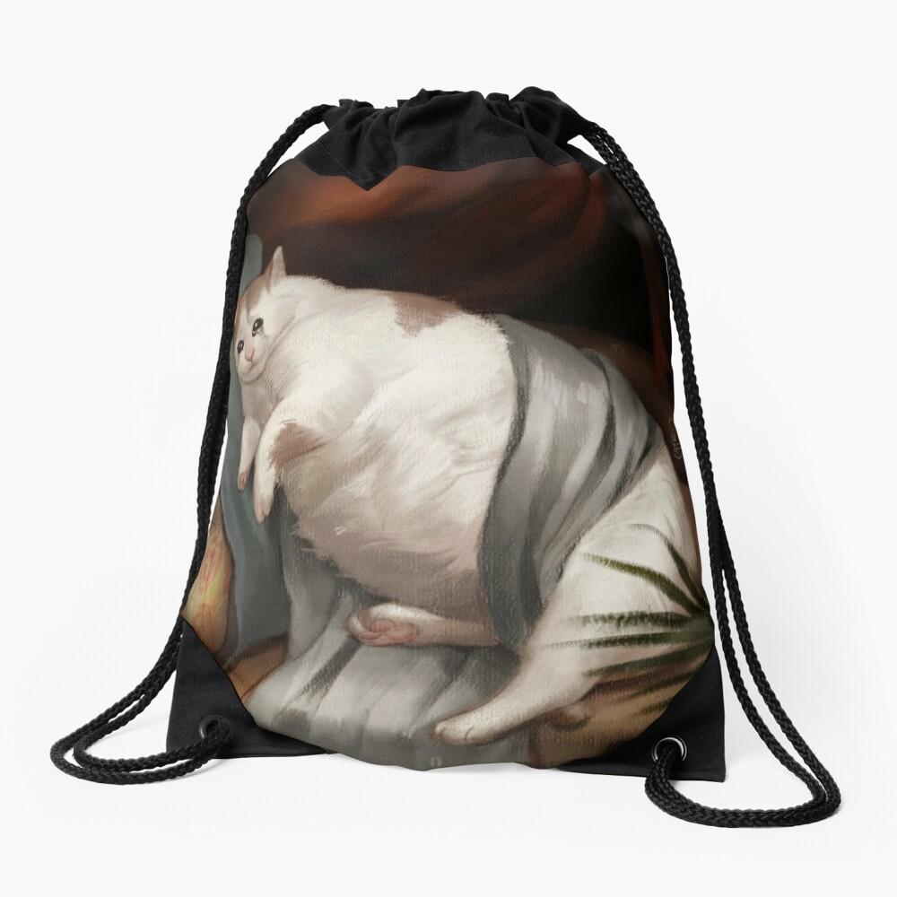 Crying in Renaissance Drawstring Bag