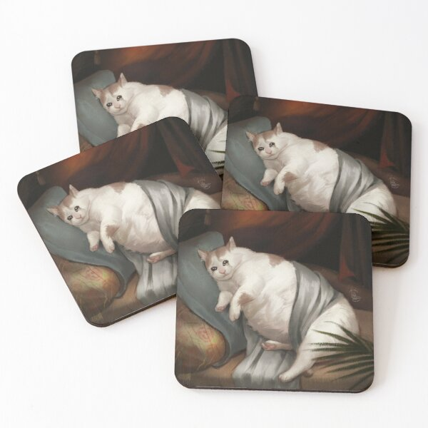 Crying in Renaissance Coasters (Set of 4)