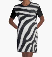 Zebra print  Graphic T-Shirt Dress