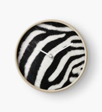 Zebra print  Clock