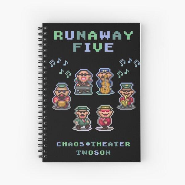 Runaway Five Spiral Notebook