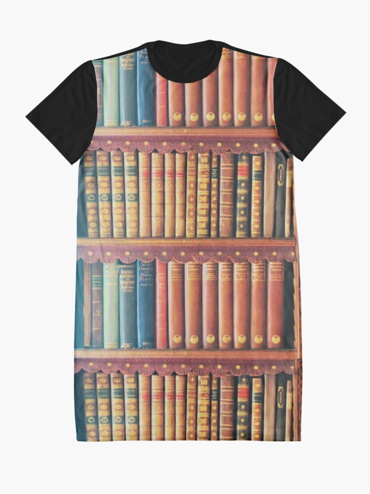 Alternate view of Library Graphic T-Shirt Dress