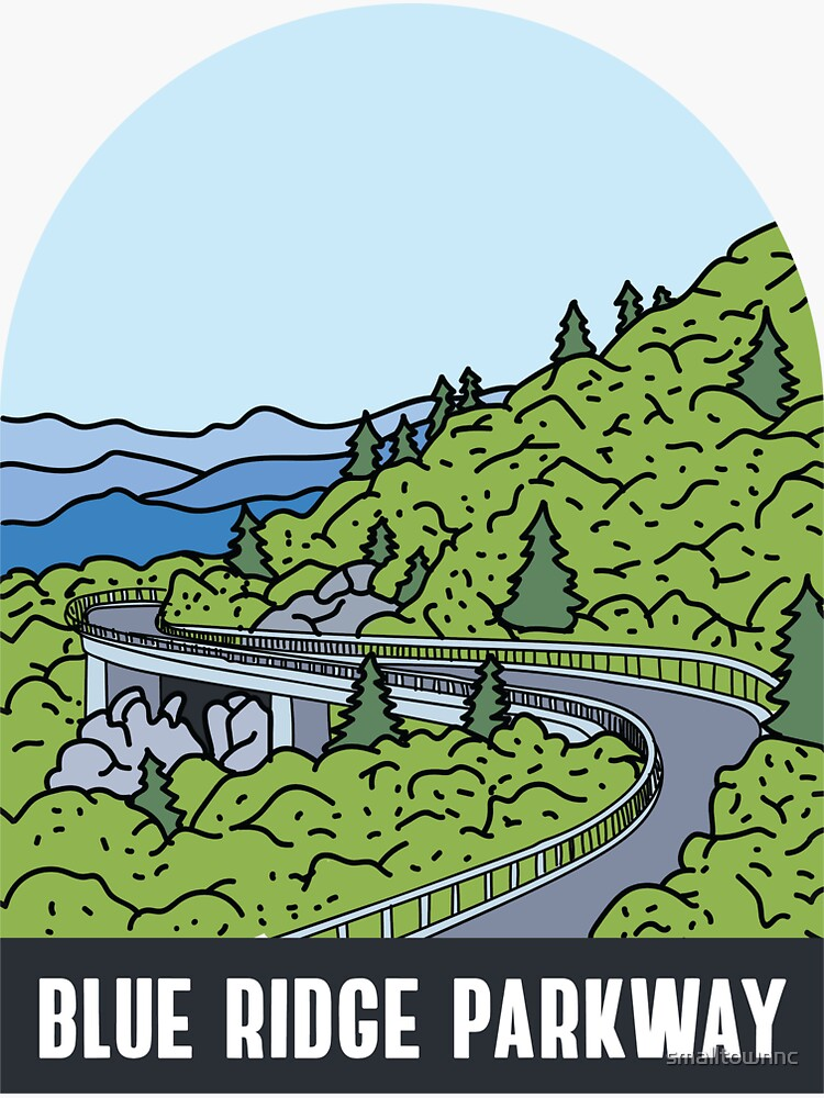 Blue Ridge Parkway by smalltownnc