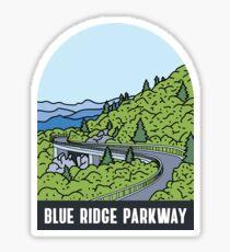 Pegatina Blue Ridge Parkway