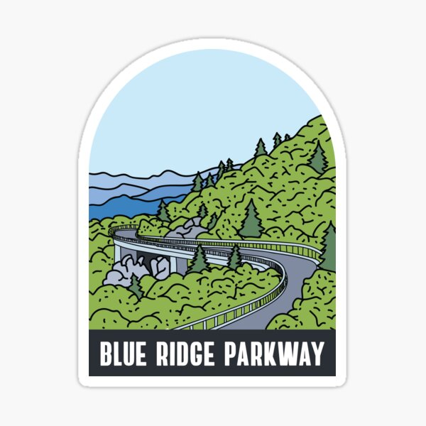 Blue Ridge Parkway Sticker