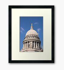 Wisconsin. Framed Print