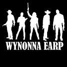 Wynonna Earp - Cast (White, for Darker backgrounds) by Chantal Zeegers