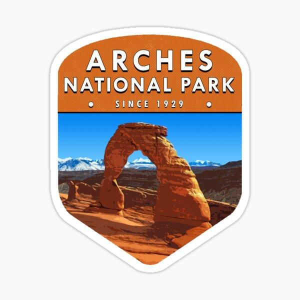 Arches National Park 2 Sticker