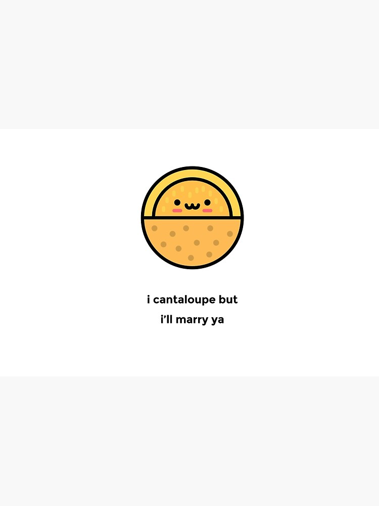 Just A Punny Cantaloupe Joke Laptop Skin By Misoart Redbubble Cantaloupe was a minor character who only appeared in 2 billion views!. redbubble