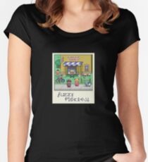 Fuzzy Pickles Women's Fitted Scoop T-Shirt
