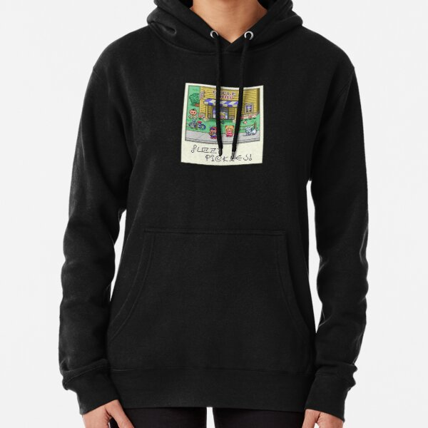Fuzzy Pickles Pullover Hoodie
