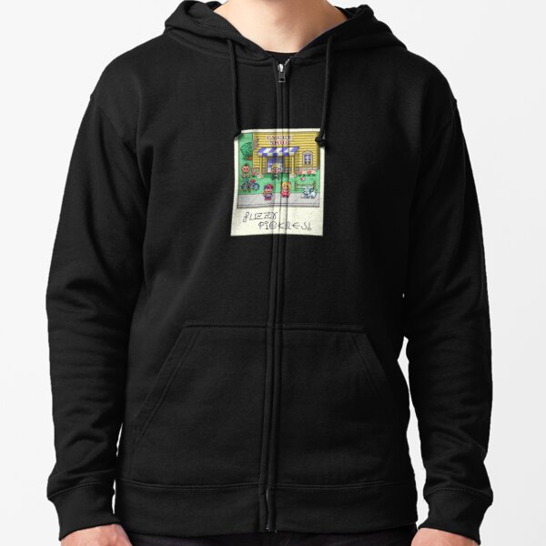 Fuzzy Pickles Zipped Hoodie