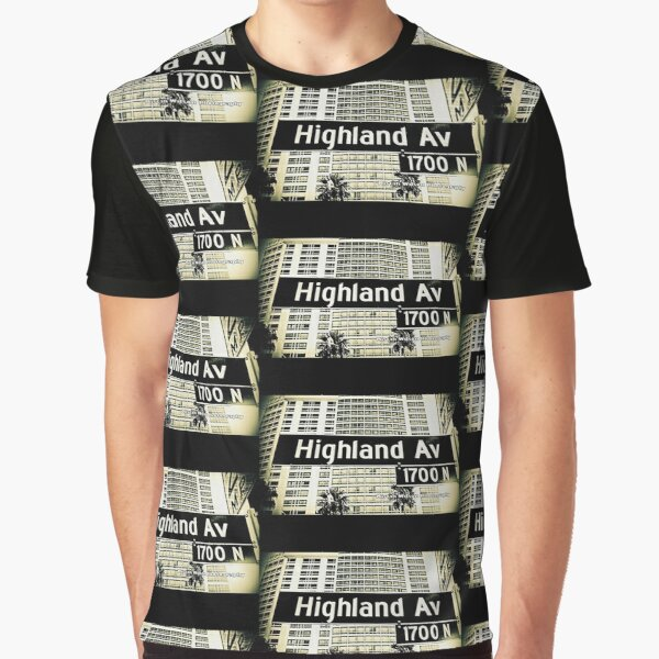 Highland Avenue2 Hollywood CA by Mistah Wilson Photography  Graphic T-Shirt