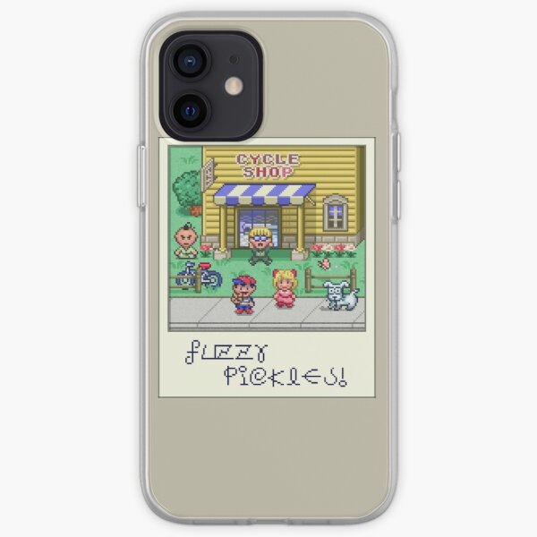Fuzzy Pickles iPhone Soft Case