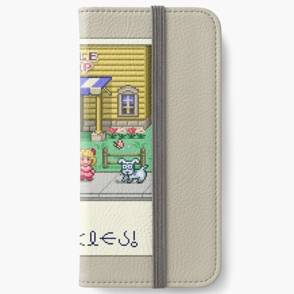 Fuzzy Pickles iPhone Wallet